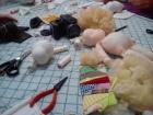 Oficina de confecção de bonecas pedagógicas